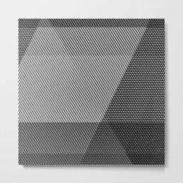 moire Metal Print