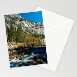 Mirror lake, Yosemite, CA. Stationery Cards