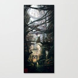 Abyss Toshi Canvas Print