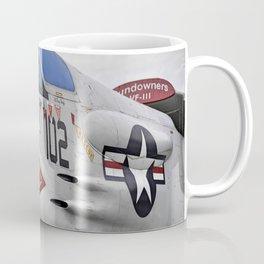 1957 F-8K Crusader Coffee Mug