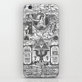 Legend of Zelda - The Three Goddesses of Hyrule Geek Line Artly iPhone Skin