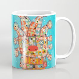 Clown with Flower Coffee Mug