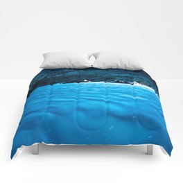 Blue Grotto Comforters