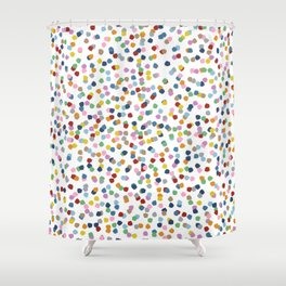Blossom Petals II Shower Curtain