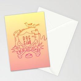 Dog Club Stationery Cards