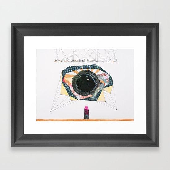 Ancient Eye Framed Art Print