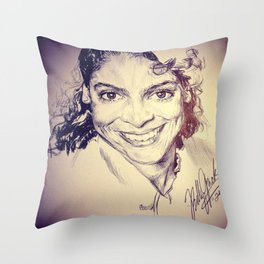 Jasmine Guy Throw Pillow