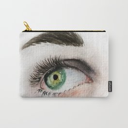 Eye Study in Watercolor 1 Carry-All Pouch