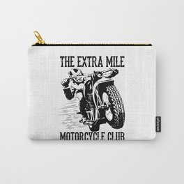 THE EXTRA MILE MOTORCYCLE CLUB Carry-All Pouch