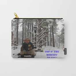 Top o' the Mornin' to you Carry-All Pouch