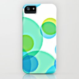 Dimpled Bubbles iPhone Case