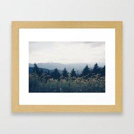 the mountain air Framed Art Print
