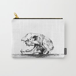 mittens - cat skull Carry-All Pouch
