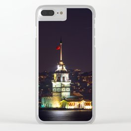 Maiden tower in Istanbul vol2 Clear iPhone Case