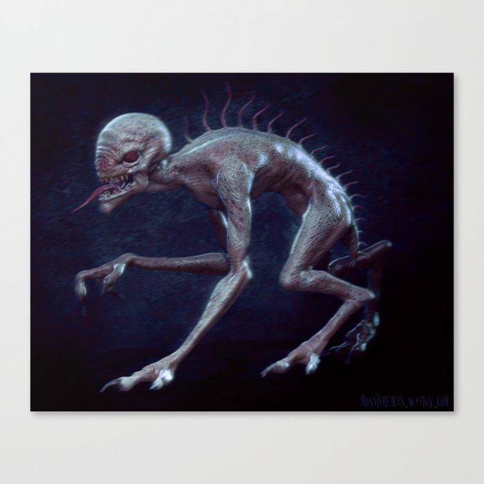 Chupacabras Canvas Print