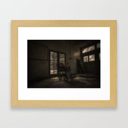 Come in and stay a while Framed Art Print