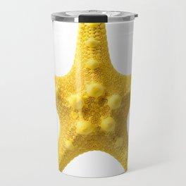Yellow starfish Travel Mug