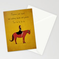 Red Pony Stationery Cards