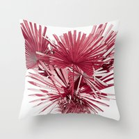 palm Throw Pillows featuring PALM by • PASXALY •