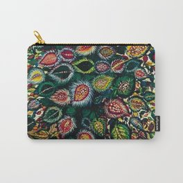 Feuilles - Leaves and Flowers by Seraphine Louis Carry-All Pouch