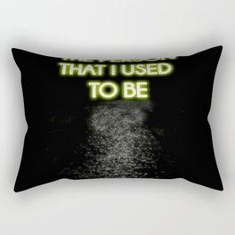 Neon - I am not that person Rectangular Pillow