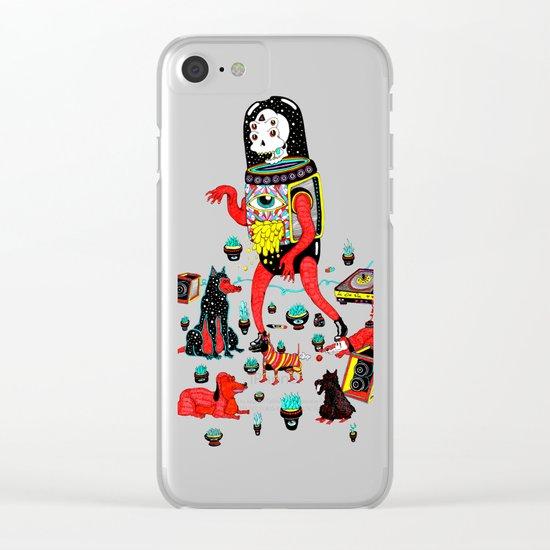 perric Clear iPhone Case