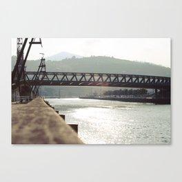 Euskalduna Bridge Canvas Print