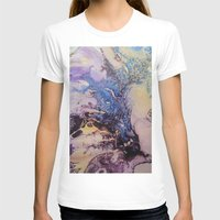 exo T-shirts featuring Exo- Birth Series I by Melina Green