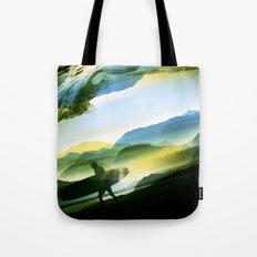 Sunny Surf Tote Bag