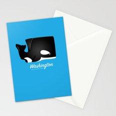 The Washington Whale Stationery Cards