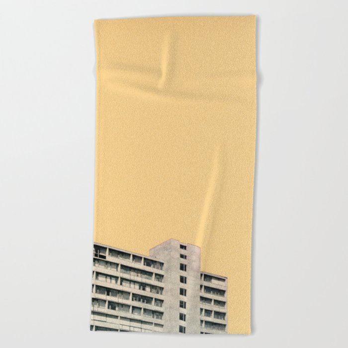 Hot in the City Beach Towel