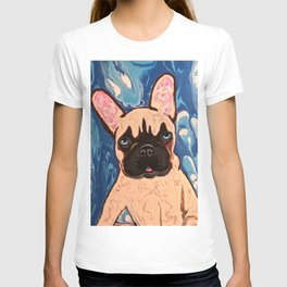 Abstract Frenchie T-shirt