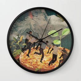 Pompeii Wall Clock