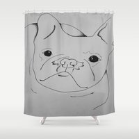 danny ivan Shower Curtains featuring Ivan by seekmynebula