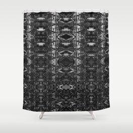 Catedral De La Luna: Skull Chamber Shower Curtain