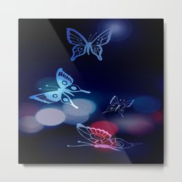Butterflys on the escape Metal Print