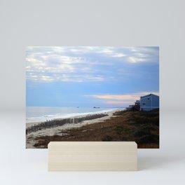 The Point At Oak Island Mini Art Print