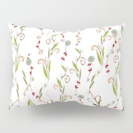 Flower vines Pillow Sham