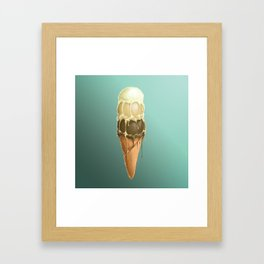 French Vanilla Butter Pecan Chocolate Deluxe Framed Art Print