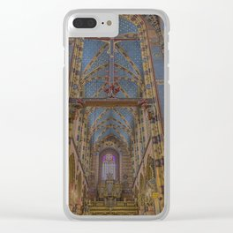 St. Mary's Basilica. Clear iPhone Case