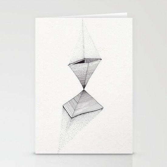 sand pyramids Stationery Cards
