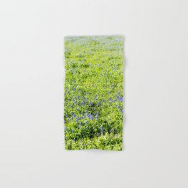 Texas Bluebonnet Field Hand & Bath Towel