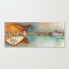 Rickenback Guitar Canvas Print