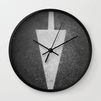 one direction Wall Clocks featuring One Direction by Linus Karlsson
