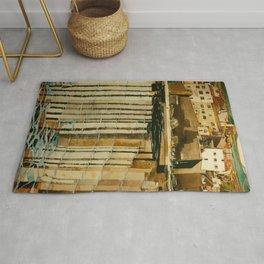 """Charles Rennie Mackintosh """"Rue du Soleil"""" Rug"""