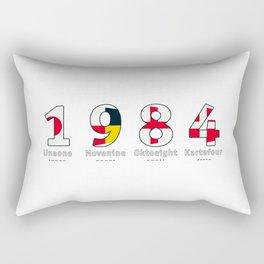 1984 - NAVY - My Year of Birth Rectangular Pillow