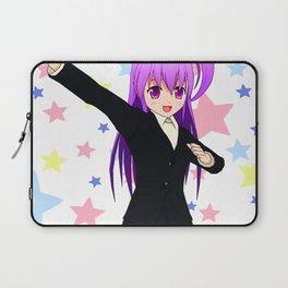 Manga Superhero Anime Girl Laptop Sleeve