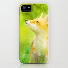 Enchanted Fox iPhone Case