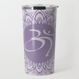 Purple Aum Travel Mug