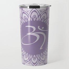 Purple Aum Travel Mug